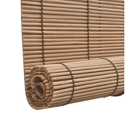 vidaXL Bambusrollo 80 x 220 cm Braun[3/5]