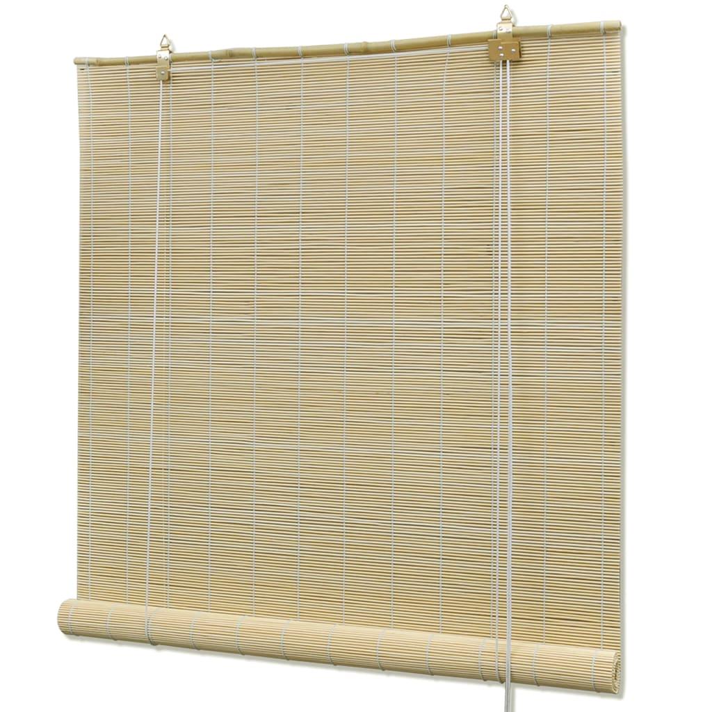 Bambusová roleta 80 x 220 cm přírodní
