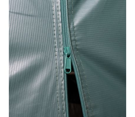 vidaXL Premični šotor za živino 550 g/m² PVC 3,3x4,8 m temno zelen[7/9]