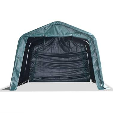 vidaXL eemaldatav loomatelk, PVC 550 g/m², 3,3 x 4,8 m, tumeroheline[2/9]