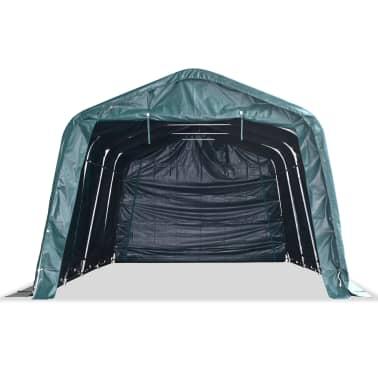 vidaXL eemaldatav loomatelk, PVC 550 g/m², 3,3 x 6,4 m, tumeroheline[3/10]
