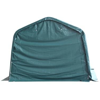 vidaXL eemaldatav loomatelk, PVC 550 g/m², 3,3 x 16 m, tumeroheline[3/9]