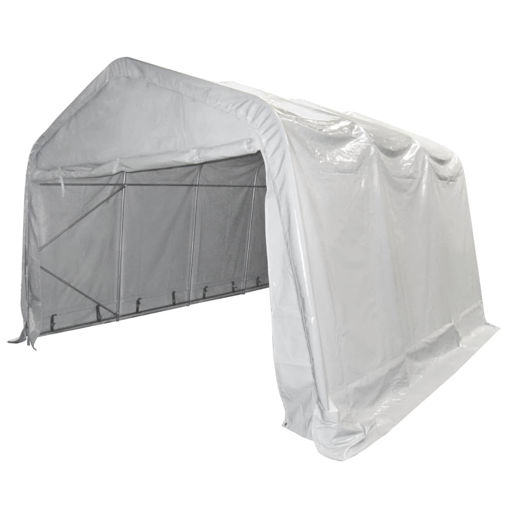 vidaXL Opslagtent 550 g/m² 3x6 m PVC wit