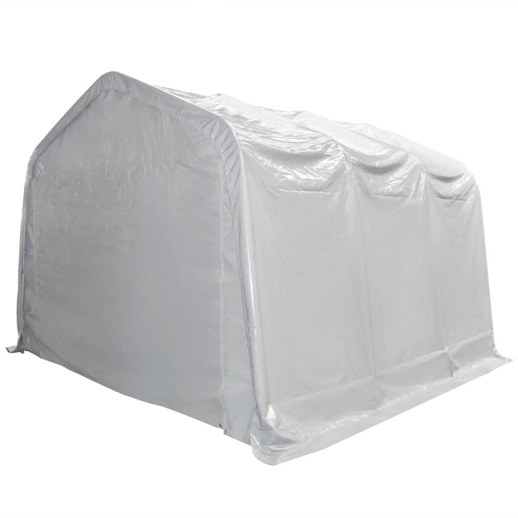Afbeelding van vidaXL Opslagtent 550 g/m² 4x6 m PVC wit