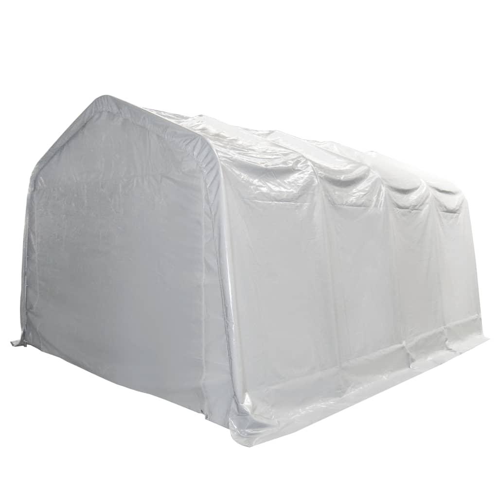 Afbeelding van vidaXL Opslagtent 550 g/m² 4x8 m PVC wit