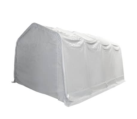 vidaXL Tente de rangement PVC 550 g/m² 4 x 8 m Blanc[2/6]