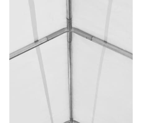 vidaXL Tente de rangement PVC 550 g/m² 5 x 10 m Blanc[4/6]