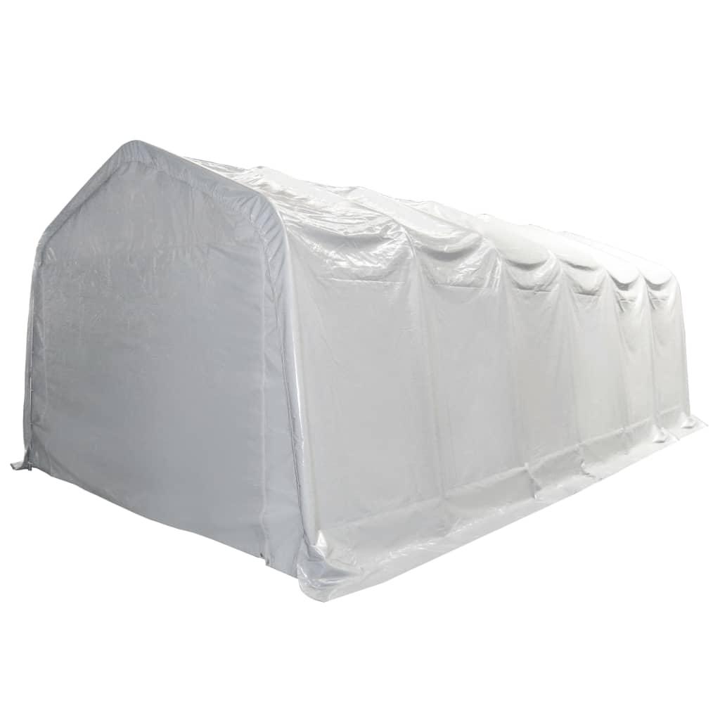 Afbeelding van vidaXL Opslagtent 550 g/m² 6x12 m PVC wit