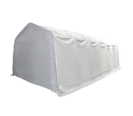 vidaXL Šotor za shranjevanje PVC 550 g/m² 6x12 m bel[2/6]