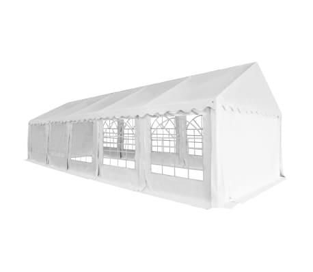 vidaXL fehér PVC kerti pavilon 5 x 10 m