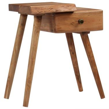 vidaXL Noptieră din lemn masiv de acacia, 45 x 32 x 55 cm[1/14]