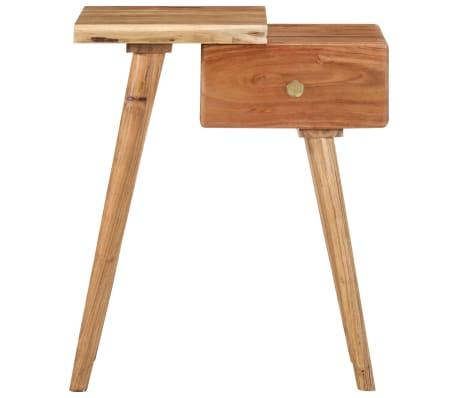 vidaXL Noptieră din lemn masiv de acacia, 45 x 32 x 55 cm[2/14]