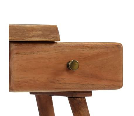 vidaXL Noptieră din lemn masiv de acacia, 45 x 32 x 55 cm[5/14]