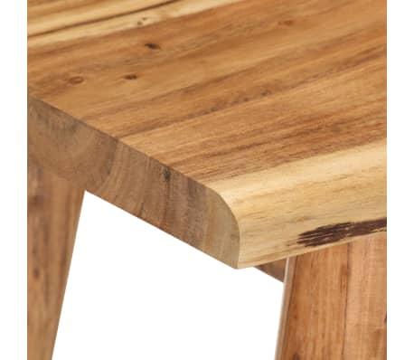 vidaXL Noptieră din lemn masiv de acacia, 45 x 32 x 55 cm[6/14]