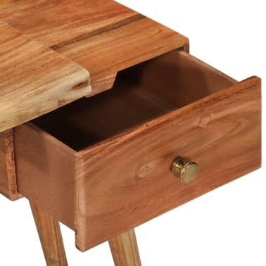 vidaXL Noptieră din lemn masiv de acacia, 45 x 32 x 55 cm[4/14]