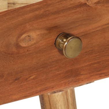 vidaXL Noptieră din lemn masiv de acacia, 45 x 32 x 55 cm[7/14]