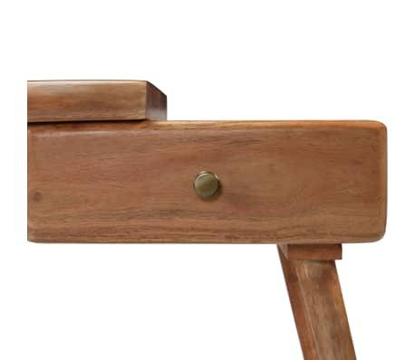 vidaXL Konsolinis staliukas, akacijos medienos masyvas, 115x35x76cm[6/17]