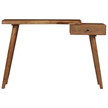 vidaXL Konsolinis staliukas, akacijos medienos masyvas, 115x35x76cm[2/17]