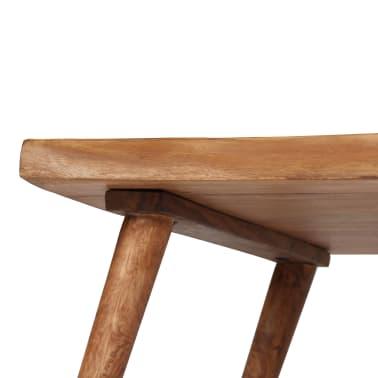vidaXL Konsolinis staliukas, akacijos medienos masyvas, 115x35x76cm[11/17]