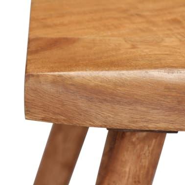 vidaXL Konsolinis staliukas, akacijos medienos masyvas, 115x35x76cm[12/17]