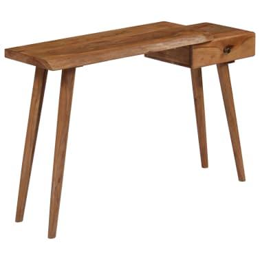 vidaXL Konsolinis staliukas, akacijos medienos masyvas, 115x35x76cm[13/17]