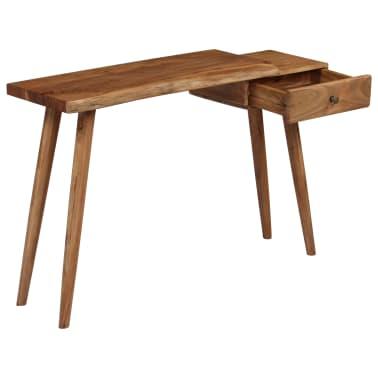vidaXL Konsolinis staliukas, akacijos medienos masyvas, 115x35x76cm[15/17]