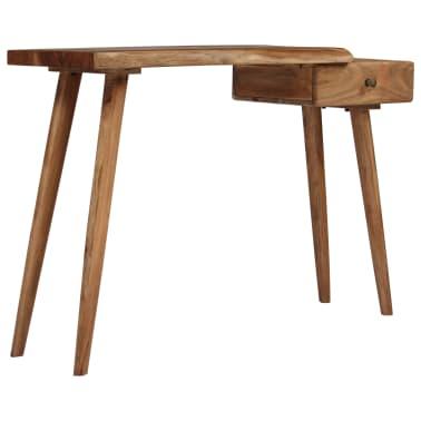 vidaXL Konsolinis staliukas, akacijos medienos masyvas, 115x35x76cm[16/17]