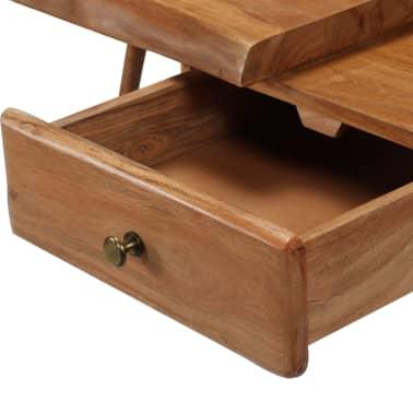vidaXL Konsolinis staliukas, akacijos medienos masyvas, 115x35x76cm[7/17]