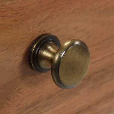 vidaXL Konsolinis staliukas, akacijos medienos masyvas, 115x35x76cm[8/17]