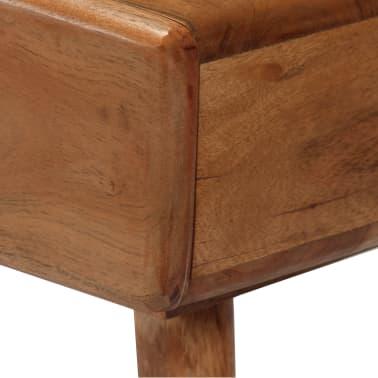 vidaXL Konsolinis staliukas, akacijos medienos masyvas, 115x35x76cm[9/17]