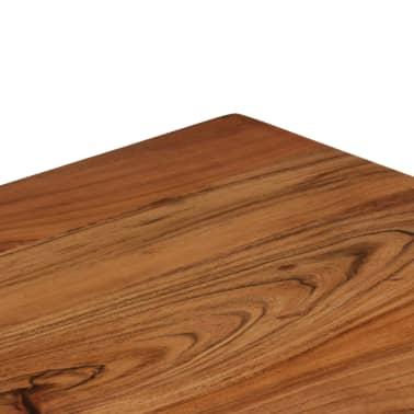 vidaXL Rašomasis stalas, masyvi akacijos mediena, 110x50x76cm[11/18]