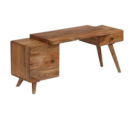 vidaXL Dulap lateral, 120 x 36 x 50 cm, lemn masiv de acacia