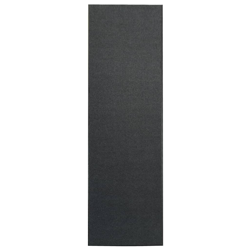 Afbeelding van vidaXL Deurmat anti-slip met vinyl onderkant 1,2x5 m grijs