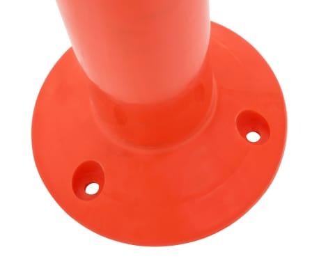 vidaXL Borne de contrôle du trafic 5 pcs Plastique 75 cm[5/7]