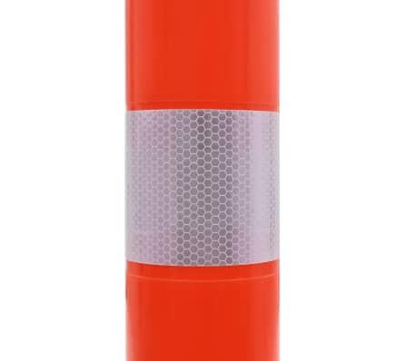 vidaXL Borne de contrôle du trafic 5 pcs Plastique 75 cm[6/7]