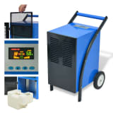 vidaXL Dehumidifier with Hot Gas Defrosting System 13.2 gal/24 h 860 W