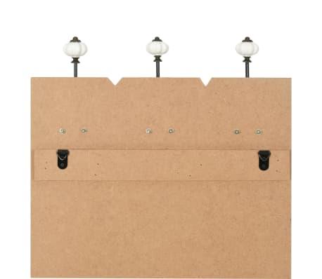vidaXL Wall-mounted Coat Rack with 6 Hooks 120x40 cm LIVE LIFE[6/6]