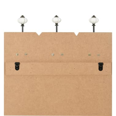 vidaXL Cuier de perete cu 6 cârlige, 120x40 cm, THANK YOU[6/6]