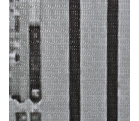 vidaXL Kambario pertvara, 120x170 cm, Niujorkas dieną, juoda ir balta[4/5]