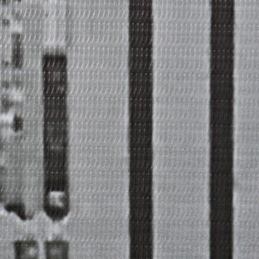 vidaXL Kambario pertvara, 160x170 cm, Niujorkas dieną, juoda ir balta[4/5]