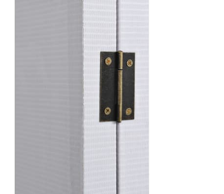 vidaXL Raumteiler klappbar 228 x 170 cm New York bei Tag Schwarz-Weiß[3/5]