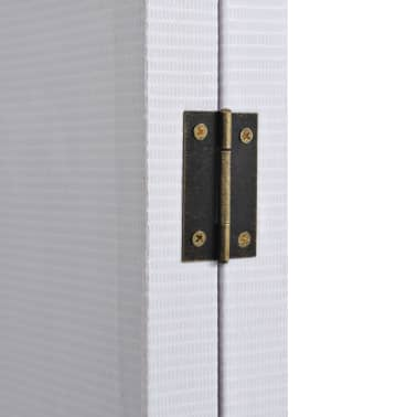 vidaXL Cloison de séparation pliable 228x180 cm New York Noir et blanc[3/5]