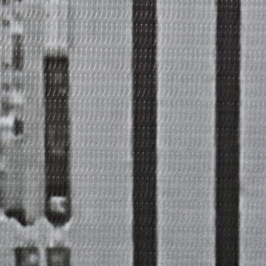 vidaXL Raumteiler klappbar 228 x 170 cm New York bei Tag Schwarz-Weiß[4/5]