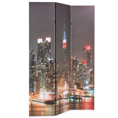 vidaXL Kambario pertvara, 120x170 cm, Niujorkas naktį[2/5]