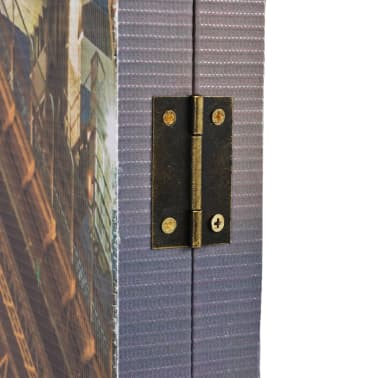 vidaXL Cloison de séparation pliable 120x180 cm Harbour Bridge Sydney[3/5]