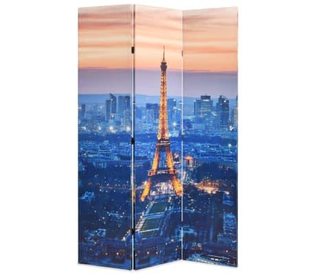 vidaXL Cloison de séparation pliable 120x180 cm Paris la nuit[1/5]