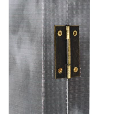 vidaXL Kambario pertvara, 200x170 cm, Londono autob., juoda ir balta[5/5]