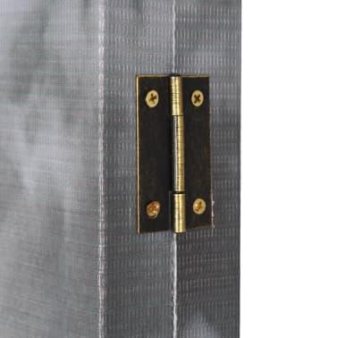 vidaXL Kambario pertvara, 228x170cm, Londono autob., juoda ir balta[5/5]