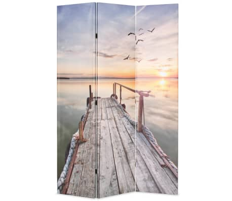 vidaXL Kamb. pertvara, sulankst., 120x170cm, ežero paveikslėlis[1/5]