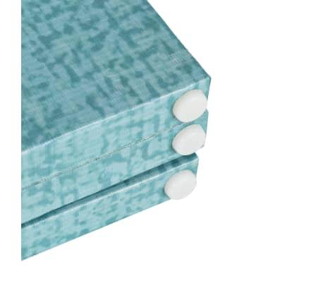 vidaXL foldbar rumdeler 120 x 170 cm sommerfugl blå[5/5]